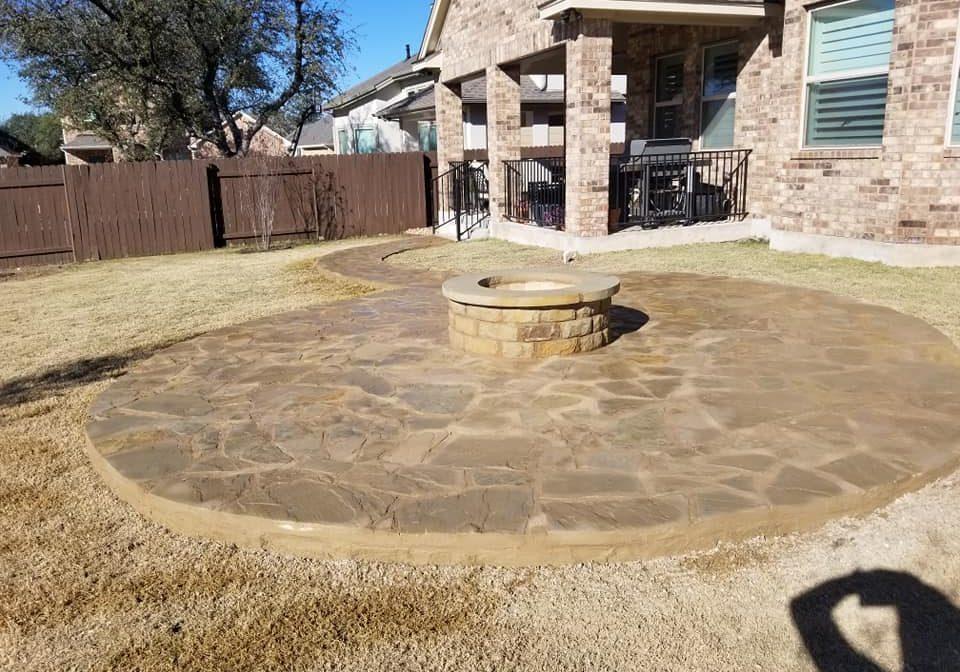 Fire Pit and Patio Cedar Park TX